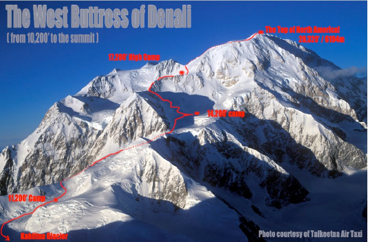The-west-buttress-of-denali